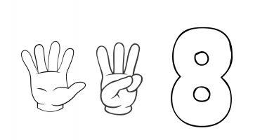 8 dedos ficha